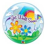 Bubble 22 Polegadas - Melhore Logo! - Pipas - Qualatex