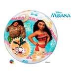 Bubble 22 Polegadas - Moana da Disney - Moana - Qualatex