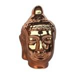 Buda Decorativo em Cerâmica Cobre Urban