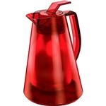 Bule Térmico Milan Translúcido 0,5L Vermelho - Euro Thermo