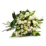 Buquê Blanc com Flores Brancas M