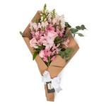 Buquê Kraft de Flores Rosas