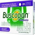 Buscopan Composto Boehringer 20 Comprimidos Revestido