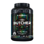 Butcher (907G) Chocolate - Black Skull