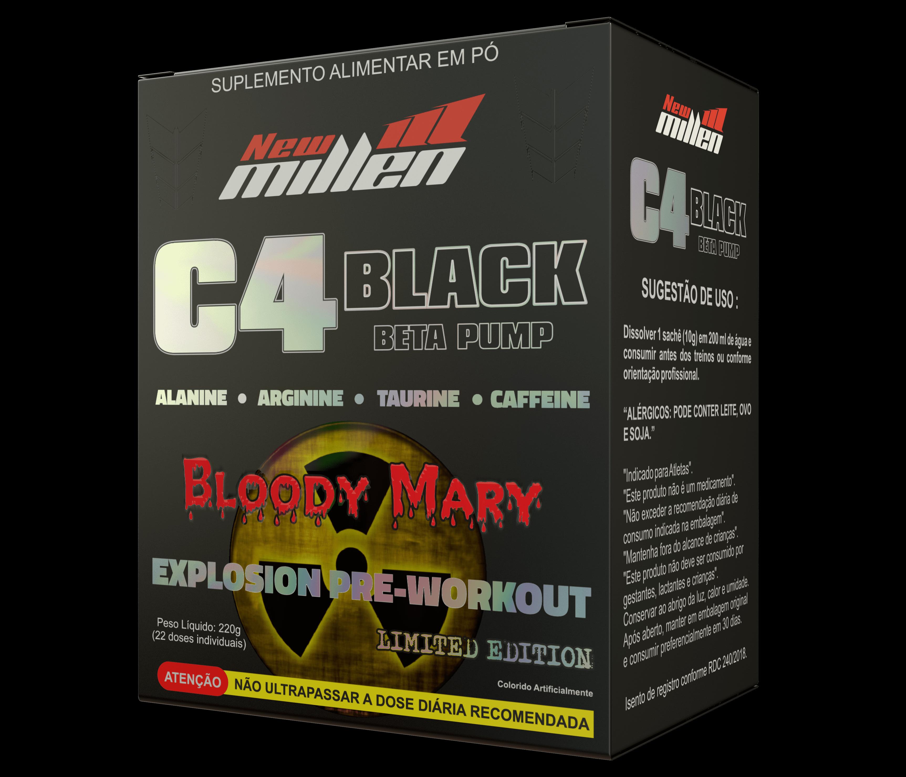 C4 Black-explosion (22unid-10g) New Millen
