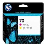 Cabeça de Impressão Hp 70 Magenta e Amarelo C9406a