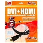 Cabo DVI para HDMI, 5 Metros - Cirilo Cabos