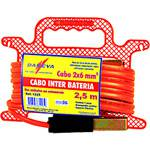 Cabo Inter Bateria PP 2x6,00mmx 2,50m - Daneva