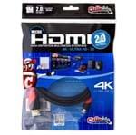 Cabo MICRO HDMI para HDMI 2.0, Ultra HD, 4K, 3D, 1 Metro
