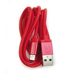 Cabo Micro USB 90 Cm Vermelho - Duracell