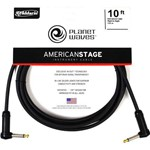 Cabo para Guitarra Planet Waves 3,05m Americ Stage PW-AMSGRR-10 P10L