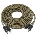 Cabo Rca TechNoise Series 300 Pro 5m 4mm PVC Translúcido