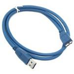 Cabo USB 3.0 Micro para HD Externo 1,5 Metros