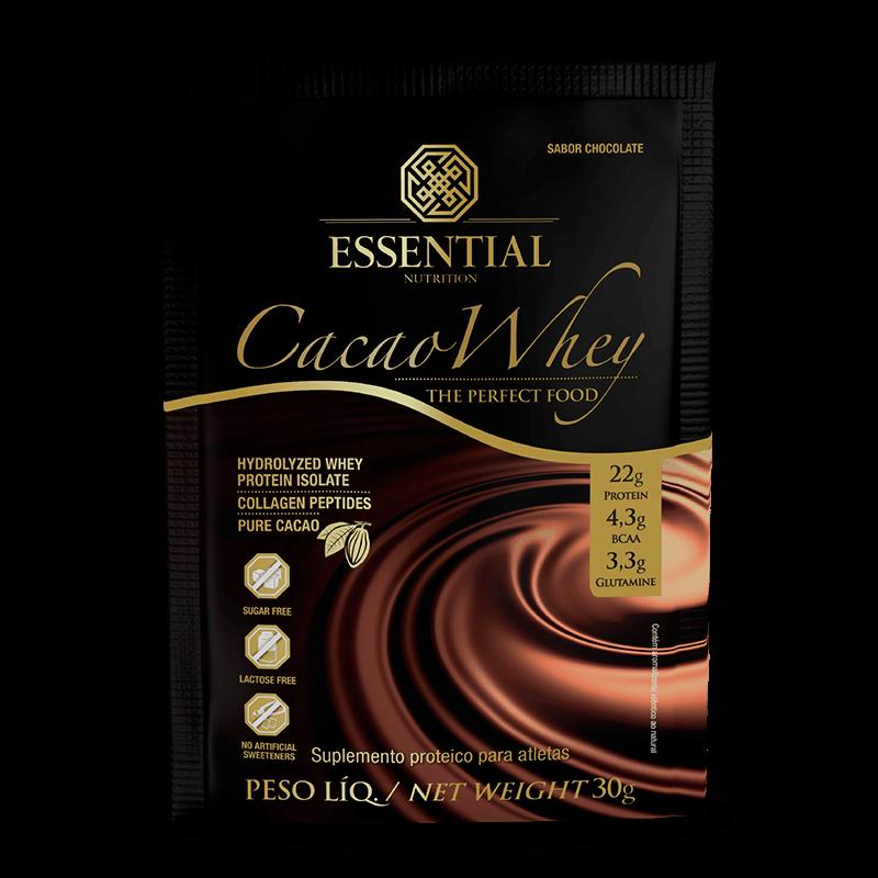 Cacao Whey (Sachê-30g) Essential Nutrition