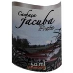Cachaça Jacuba Prata 50ml