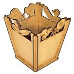 Cachepot Baixo para Festa em Mdf 3mm - Festa Chá de Bebê