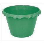 Cachepot C/ Borda Verde - Unidade