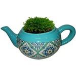 Cachepot de Cerâmica Verde Teapot Portuguese Urban