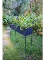 Cachepot Horta M Azul - Jardineira Azul G