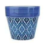 Cachepot Marrocan Blue Cone Azul