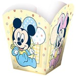 Cachepot Pequena Baby Mickey e Amigos 8 Unidades Regina Festas