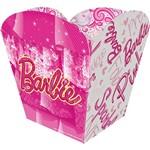 Cachepot Pequena Barbie Core 8 Unidades Regina Festas
