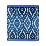 Cachepot Squared Marrocan Blue Pequeno Azul