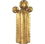 Cacto em Cerâmica Desert 6198 Dourado Mart