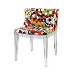 Cadeira 1135c Floral Base Incolor