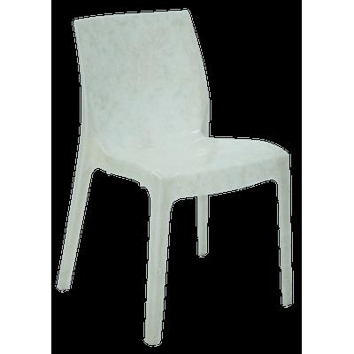 Cadeira Alice Pérola Branco Brilhosa Tramontina 92037011
