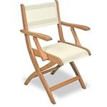 Cadeira com Braço Dobrável e Tela - Tramontina