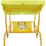Cadeira de Balanço Bulldog Mor Amarela