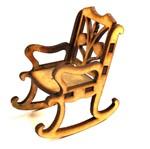 Cadeira de Balanço Mini - MDF