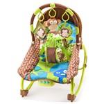 Cadeira de Balanço Reclinável - Macacos - Multikids Baby