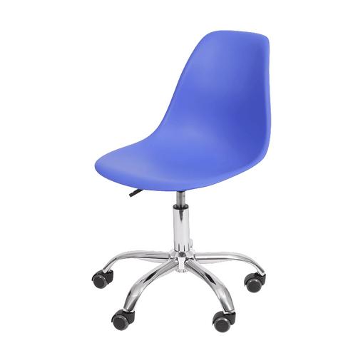 Cadeira de Escritório Eames Azul Escura 1102R OR Design