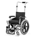 Cadeira de Rodas Agile Baby - 30cm -prata