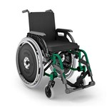 Cadeira de Rodas K3 Largura 44 Cm Preta Ortobras