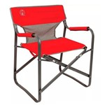Cadeira Diretor Dobrável Coleman Steel Deck