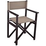 Cadeira Diretor Tabaco com Bege - Tramontina
