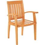 Cadeira Dobrável Plus 076 Marrom Claro - Tramontina