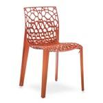 Cadeira Flexform Coral Laranja