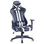 Cadeira Gamer Daytona Preta e Branca