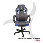 Cadeira Gamer Evolut Eg-901 Azul/Preta