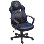 Cadeira Gamer Mad Racer Sti Master Preto com Azul - Madstimsaz