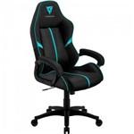 Cadeira Gamer Profissional Air Bc1 Preta/ciano Thunderx3