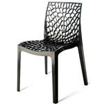 Cadeira Gruver Polipropileno Preto