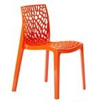 Cadeira Gruvyer - Polipropileno - Laranja