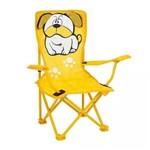 Cadeira Infantil Dobrável Bulldog Mor