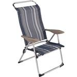 Cadeira Mitre Alumínio Polipropileno - Mor - 2433