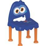 Cadeira Monster Azul e Laranja Tramontina